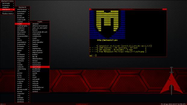BlackArch Linux 2017.03.01 já está disponível para download