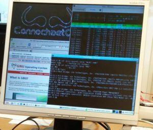 ConnochaetOS - um Slackware sem software proprietário