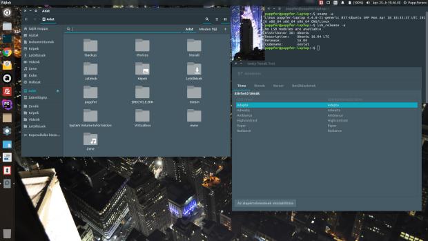 Instalando o tema Adapta dark no Ubuntu