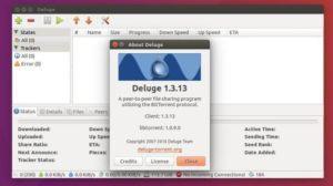 Como instalar o cliente BitTorrent Deluge no Ubuntu