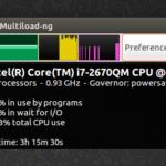Multiload-ng - um monitor de sistema alternativo para LXDE, XFCE e MATE
