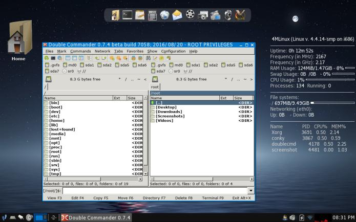 4MLinux 20.3 já está disponível para download