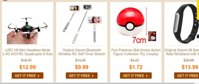 Comprar Gadgets é sempre bom. E com desconto, melhor ainda