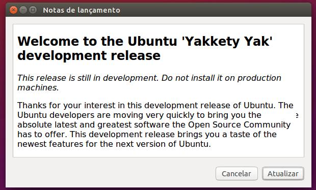 Como atualizar para o Ubuntu 16.10 na versão deskto