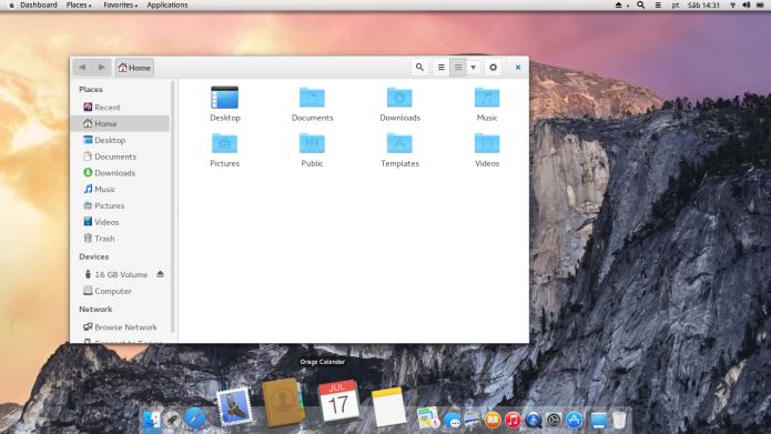 Gmac - um Linux com cara de Mac OS X