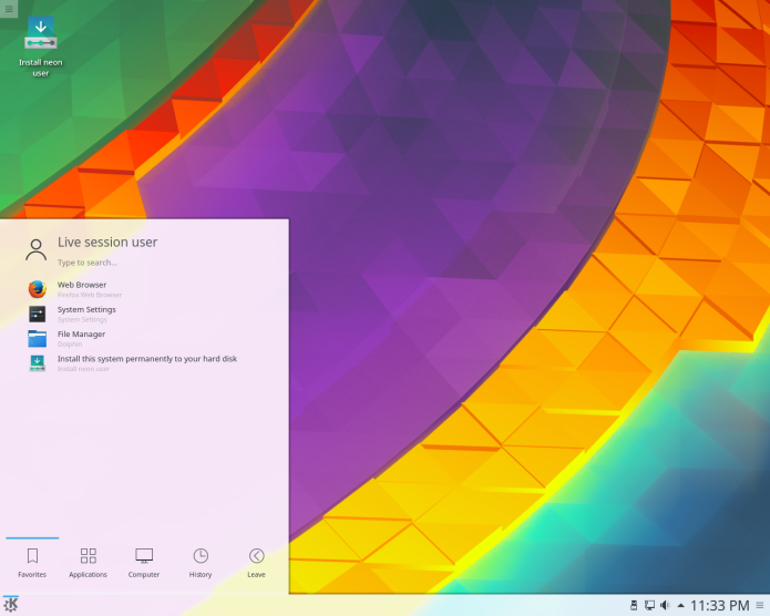 Instalar a versão mais recente do KDE Plasma 5.x no Ubuntu 18.04