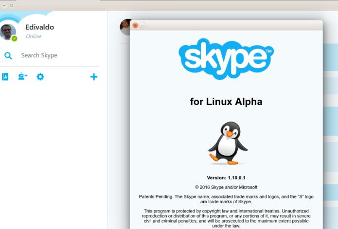 Como instalar a nova versão do Skype no Linux Ubuntu, Debian, Fedora e derivados