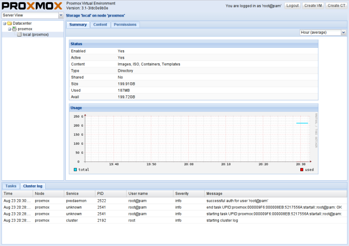 Proxmox 4.3 Virtual Environment já está disponível para download