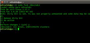 Como reparar um pendrive corrompido ou defeituoso no Linux