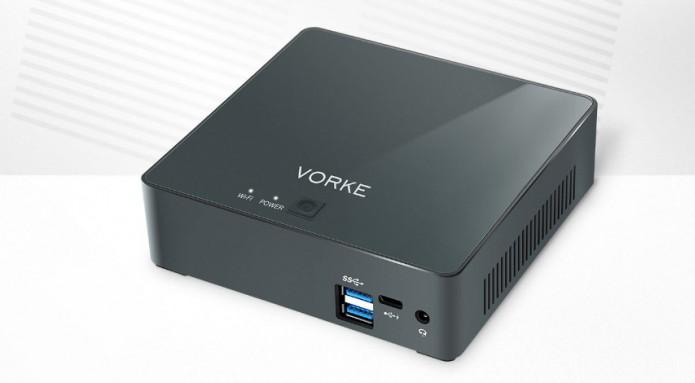 PC ultra-compacto com Ubuntu - Conheça Vorke V2