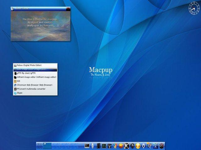 Conheça Macpup - um Puppy Linux com visual de MacOS