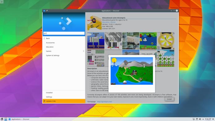 Como instalar o KDE Plasma 5.8 LTS no Ubuntu 16.04, 16.10