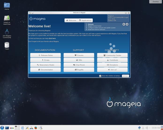 Mageia 5.1 já está disponível para download! Baixe agora!