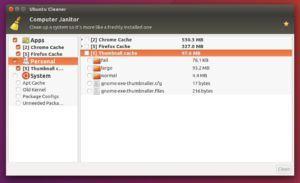 Alternativa ao Computer Janitor - Como instalar o Ubuntu Cleaner