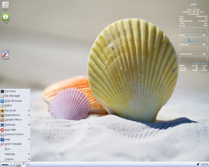 antiX 16.1 já está disponível para download! Baixe agora!