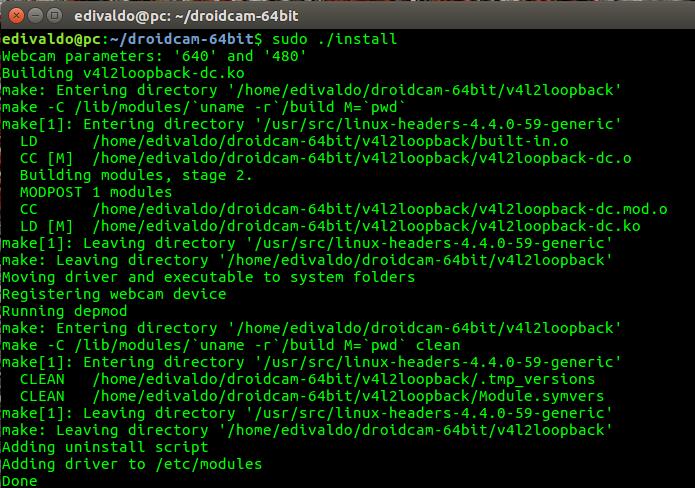 droidcam no ubuntu - Instale a última versão do Rhythmbox e os principais plugins de terceiros feitos para ele