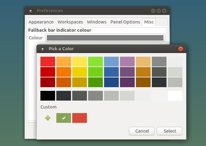 mate dock applet preferencias - Como instalar o MATE ao lado do Cinnamon no Linux Mint