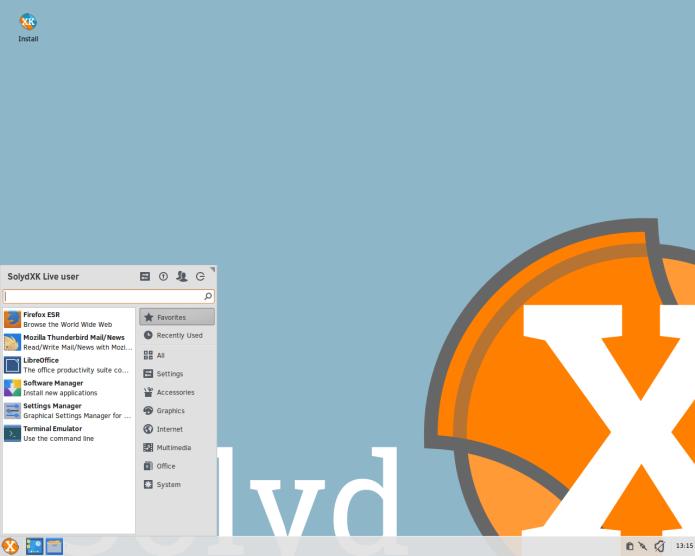 SolydXK 201701 (Xfce e KDE) já está disponível para download
