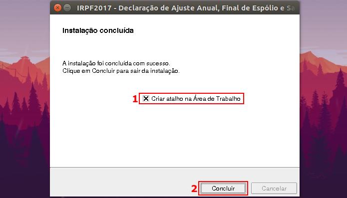Como instalar o IRPF 2017 no Linux