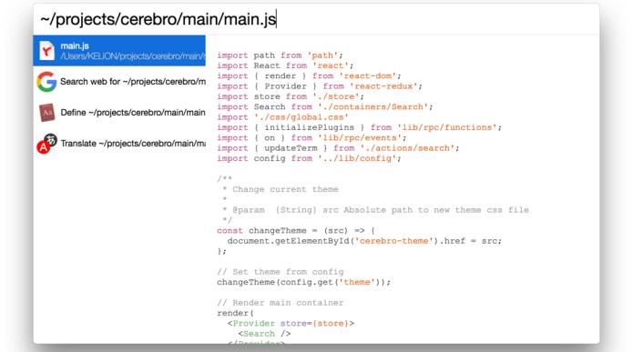 Spotlight do macOS no Linux - Conheça e instale o Cerebro