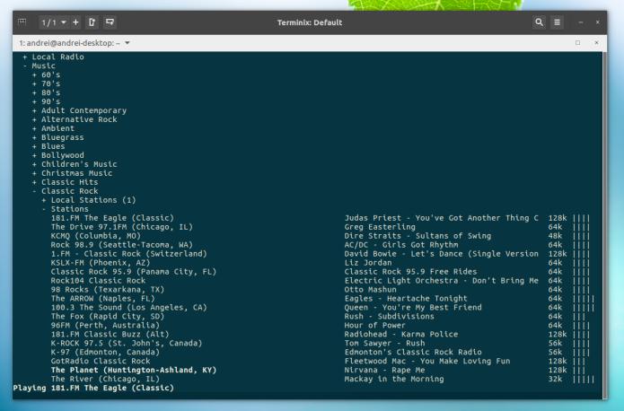 Como instalar o Curseradio no Ubuntu e derivados