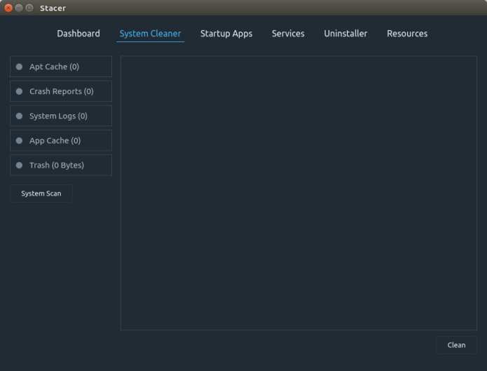 Como instalar o Stacer no Ubuntu, Debian e derivados