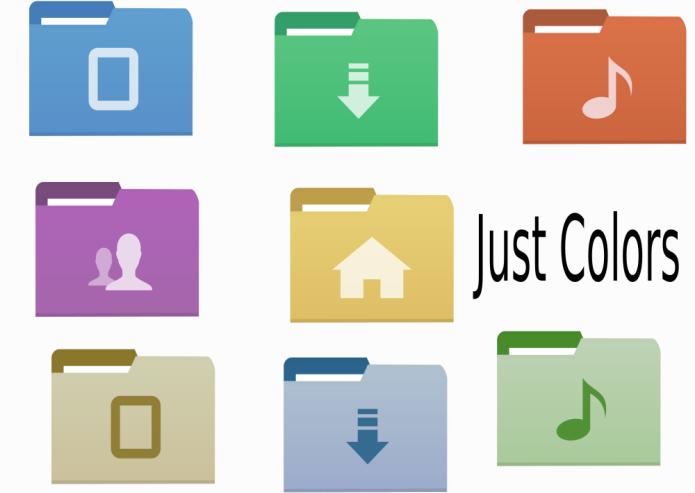Como instalar o conjunto de ícones Just Colors And Colors no Ubuntu e derivados