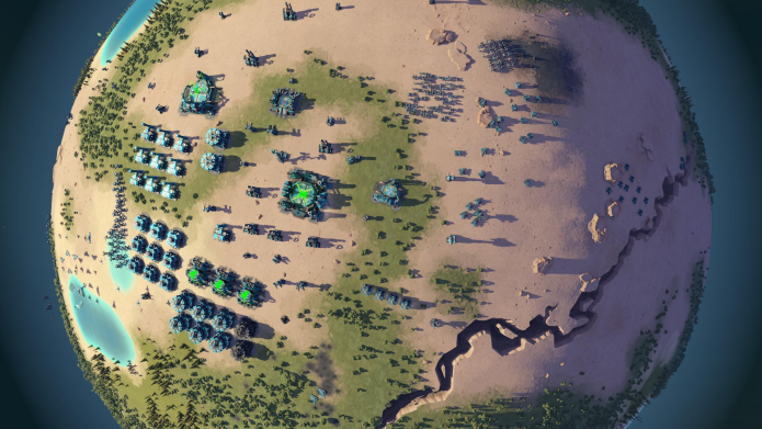 Experimente o jogo Planetary Annihilation no Linux via Steam