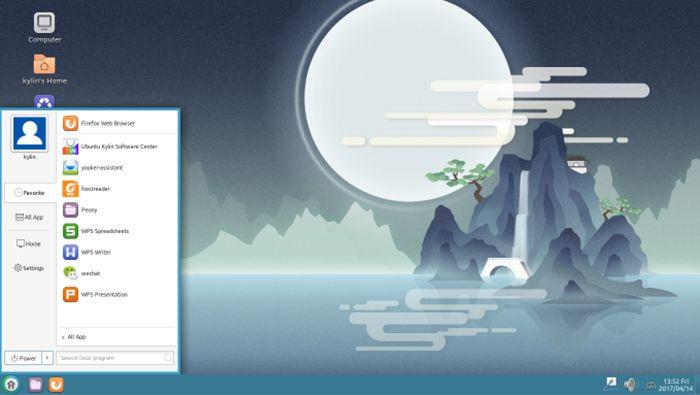 Ubuntu Kylin 17.04 também já está disponível para download