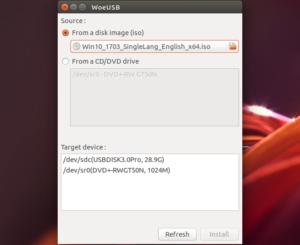 Como criar um pendrive bootável do Windows no Linux