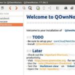 Como instalar o gerenciador de lista de tarefas QOwnNotes no Ubuntu