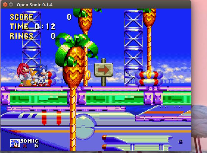 Como instalar o Open Sonic para jogar Sonic no Linux