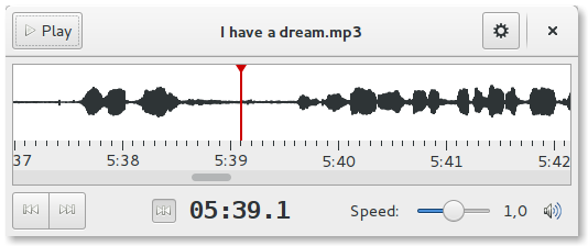 Conheça, instale o Parlatype e faça transcrição de áudio no Ubuntu