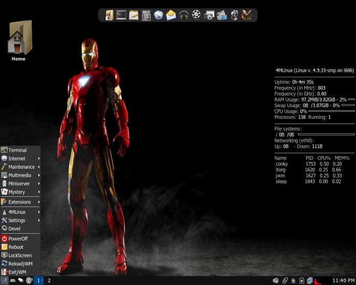 4MLinux 23 já está disponível para download! Baixe agora!