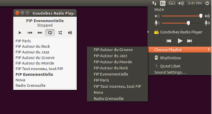 Como instalar o app de rádios Goodvibes no Ubuntu, Mint, Debian e derivados