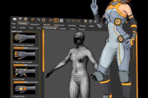 Como instalar o criador de pessoas 3d MakeHuman no Ubuntu, Debian e derivados