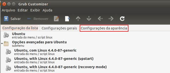 Como mudar o visual do Grub com o tema Vimix