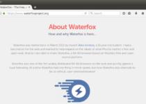 Como instalar o navegador Waterfox no Linux manualmente