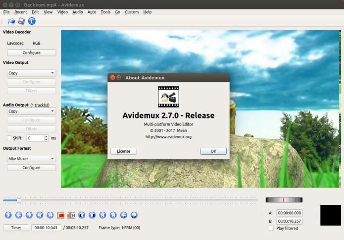 Como instalar o Avidemux no Linux via arquivo AppImage