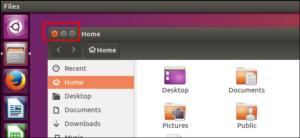 Os botões da janela do Ubuntu estão voltando para o lado direito