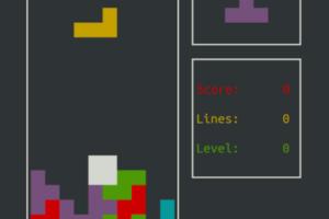 Como instalar e jogar o clone de Bastet Tetris no Ubuntu, Debian e derivados
