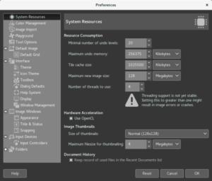 Lançado GIMP 2.9.6 com suporte a Multi-Threading Experimental