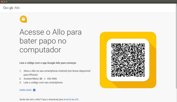 Como instalar o app Google Allo Desktop no Linux