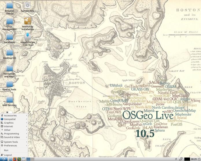 OSGeo-Live 11.0 lançado! Conheça e e experimente!