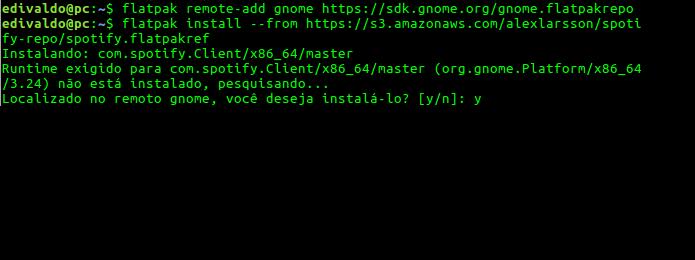 Como instalar o Spotify no Linux via Flatpak