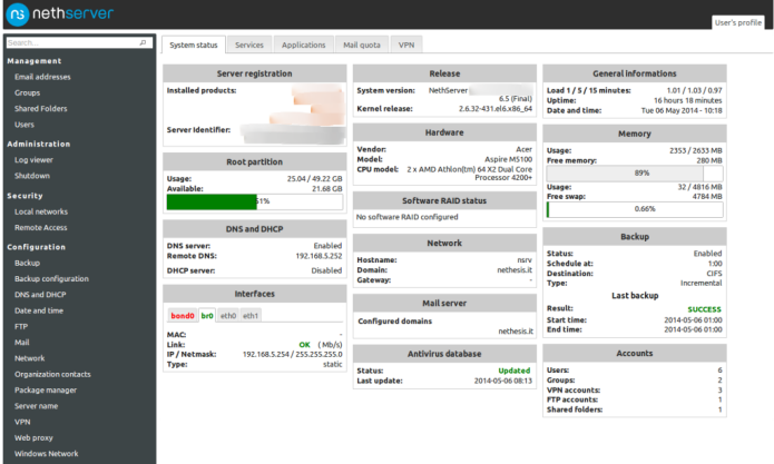 NethServer 7.4 lançado - Confira as novidades e baixe