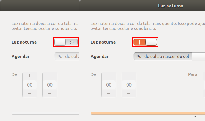 Como ativar o recurso Night Light no Ubuntu 17.10