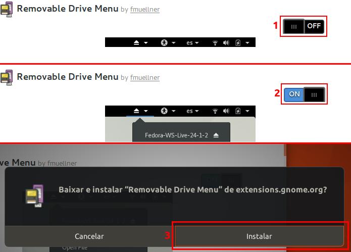 Descubra como instalar extensões do Gnome Shell