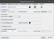 Como instalar o WallpaperDownloader no Ubuntu, Arch Linux e derivados