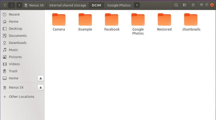Como instalar o Android File Transfer para Linux